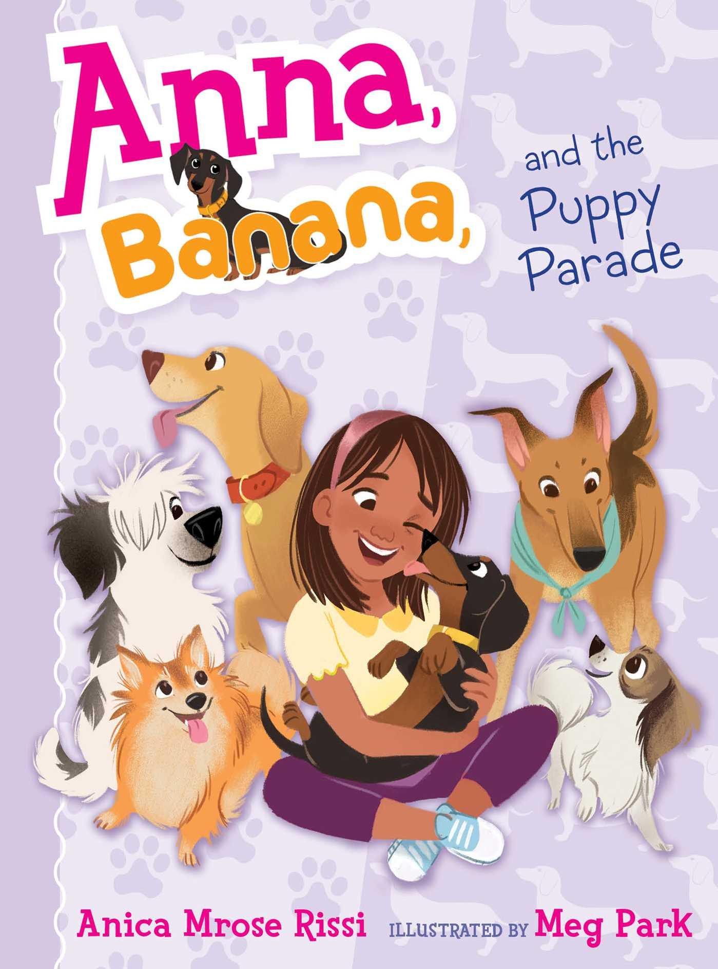 Anna, Banana, and the Puppy Parade Image