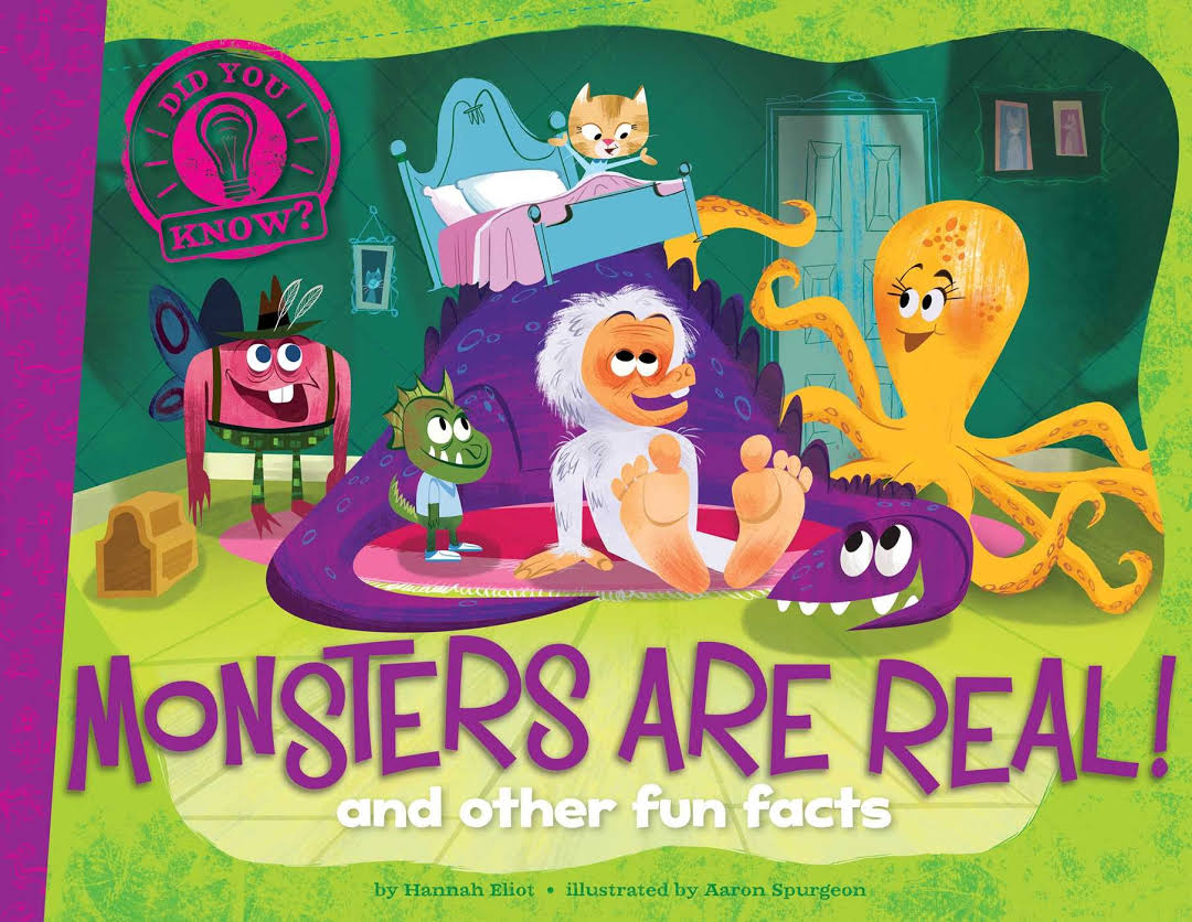 Monsters Are Real: And Other Fun Facts Image