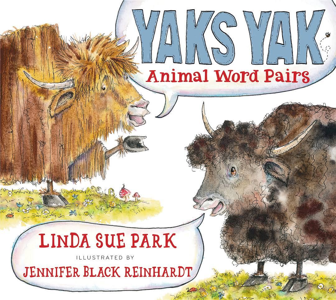 Yaks Yak: Animal Word Pairs Image