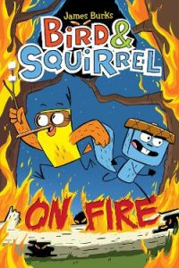 Bird & Squirrel On Fire Image