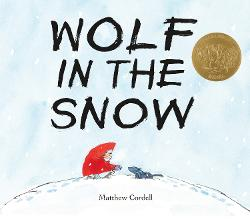 Wolf in the Snow Image