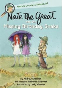 Nate the Great and the Missing Birthday Snake Image